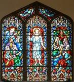 Witrażu okno St Paul kościół episkopalny fotografia royalty free