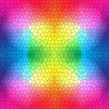 Witrażu wzór w jaskrawych kolorach Zdjęcie Royalty Free