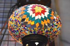 Witraż lampa Obrazy Royalty Free