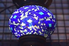 Witraż lampa Zdjęcia Royalty Free
