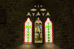 Witraż, St John, Tralee Obrazy Stock