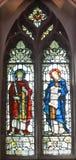 Witrażu okno, Obraz Royalty Free