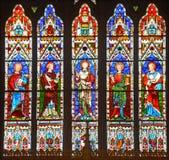 Witrażu okno, Zdjęcia Royalty Free