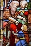 Witrażu okno, Obrazy Royalty Free