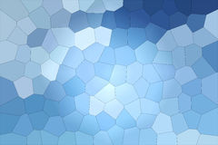 Witraż w pastelowym colour Zdjęcie Stock