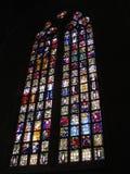Witraży okno w holandiach Obraz Stock
