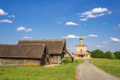 Witrussisch Dorp royalty-vrije stock afbeeldingen