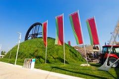 Witrussisch Paviljoen - Expo Milaan 2015 stock fotografie
