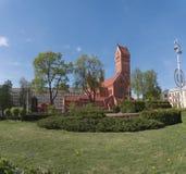 Witrussisch Roman Catholic Church stock afbeeldingen