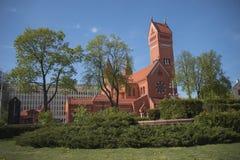 Witrussisch Roman Catholic Church royalty-vrije stock fotografie