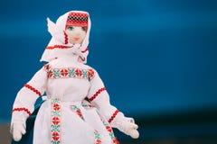 Witrussisch Volksdoll Nationale Volksdoll zijn Populaire Herinneringen Royalty-vrije Stock Foto's