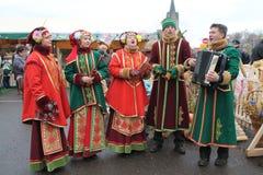 Witrussische tradities Stock Afbeeldingen