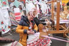 Witrussische tradities Stock Foto