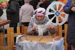 Witrussische tradities Royalty-vrije Stock Fotografie