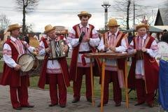 Witrussische tradities Stock Foto's