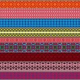 Witrussische traditionele patronen, ornamenten Reeks 3 Royalty-vrije Stock Afbeelding