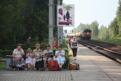 Witrussische vrouwen Stock Fotografie