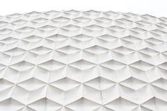 Witte abstracte voorgevel Stock Fotografie