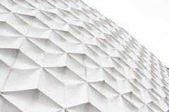 Witte abstracte voorgevel Royalty-vrije Stock Afbeeldingen