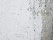 Witte achtergrond, concreet, grijs, Royalty-vrije Stock Fotografie