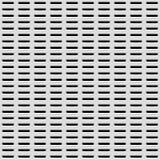 Witte Achtergrond met Geperforeerd Patroon Stock Fotografie