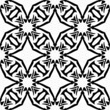 Witte Achtergrond van Semless de Zwarte dezine Stock Afbeeldingen