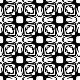 Witte Achtergrond van Semless de Zwarte dezine Stock Afbeelding