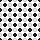 Witte Achtergrond van Semless de Zwarte dezine Driehoeken, samenvatting Stock Foto's