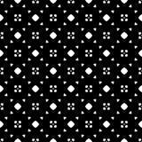 Witte Achtergrond van Semless de Zwarte dezine Driehoeken, samenvatting Stock Fotografie