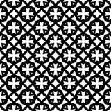 Witte Achtergrond van Semless de Zwarte dezine Driehoeken, samenvatting stock afbeelding
