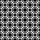 Witte Achtergrond van Semless de Zwarte dezine Driehoeken, samenvatting royalty-vrije stock afbeelding