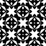 Witte Achtergrond van Semless de Zwarte dezine Driehoeken, samenvatting royalty-vrije stock fotografie