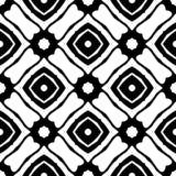 Witte Achtergrond van Semless de Zwarte dezine Driehoeken, samenvatting royalty-vrije stock foto