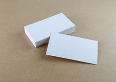 Witte adreskaartjes Royalty-vrije Stock Afbeelding
