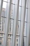 Witte architectuur Stock Foto