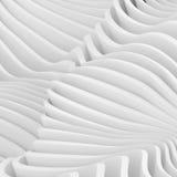 Witte architectuur cirkelachtergrond Abstract binnenlands ontwerp Stock Afbeeldingen