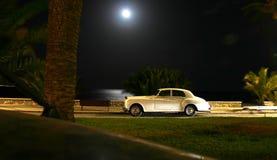 Witte Auto Royalty-vrije Stock Foto