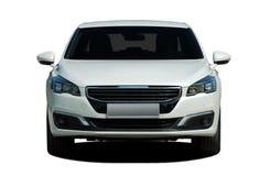 Witte auto Royalty-vrije Stock Afbeeldingen