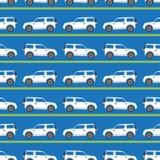 witte auto's stock illustratie