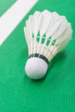 Witte badmintonshuttle Royalty-vrije Stock Afbeelding