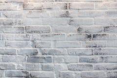 Witte baksteentextuur Stock Foto