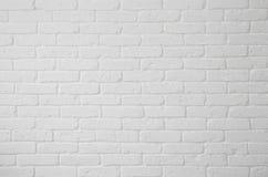 Witte bakstenen muur Royalty-vrije Stock Foto's