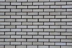 Witte bakstenen muur royalty-vrije stock afbeelding