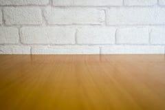 Witte bakstenen muur Stock Foto