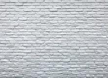 Witte bakstenen muur Fotobeeld stock foto's