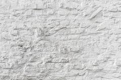 Witte bakstenen muur grunge textuur Royalty-vrije Stock Fotografie