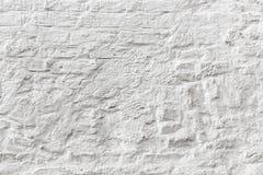 Witte bakstenen muur grunge textuur Royalty-vrije Stock Foto