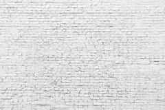 Witte bakstenen muur, oude oppervlaktetextuur van steenblokken royalty-vrije stock afbeeldingen