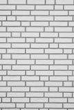 Witte bakstenen muur verticale achtergrond Royalty-vrije Stock Fotografie