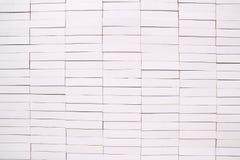 Witte bakstenen muurachtergrond Royalty-vrije Stock Foto